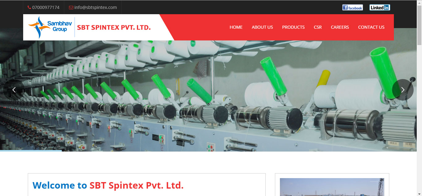 SBT Spintex Pvt. Ltd.