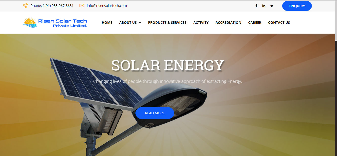 Risen Solar Tech Pvt. Ltd.